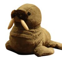 Милый аквариум животных морские котики плюшевые игрушки куклы милая кукла морж кукла для детей подарок деко учебные реквизит 38 см DY50568
