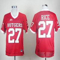 New Arrival. 27 Ray Rice Rutgers Scarlet Knights Men Jersey Mens College  Football Jerseys 4a59c62be