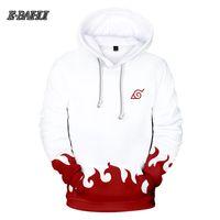 E-BAIHUI Naruto Kakashi 3D Hoodies Männer / Damen Mode Herbst Harajuku Naruto 3D Print Herren Hoodies Sweatshirt XXS-4XL 1087