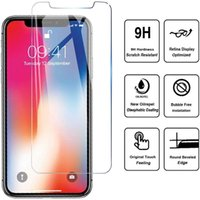 Dla iPhone 12 Pro Max Screen Protector 9H HD Glass Hartred Film Anti-Scrapsion Explosion Film ochronny do iPhone 11 XS 7 8 PLUS