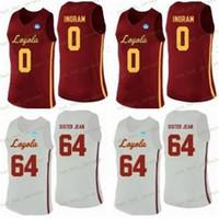 NCAA Custom Loyola Chicago Ramblers Basketball Jersey 5 Marques Townes 30 Aher Uguak 25 Cameron Krutwig 13 Clayton Custle 1 Lucas Williamson