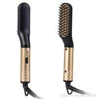 اللحية السعر مصنع متعدد الوظائف الشعر مشط فرشاة الشعر فرد الشعر استقامة مشط خيارات تصفيف الشعر للرجال