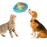 US Navio Pet Dog Toy discos voadores TPR Cat Plastic Chew Tools Drop-bacias de alimentação bugiganga Cup Behavior Training