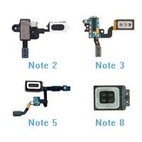 Samsung Galaxy Note 2 3 4 5 7 8 Kulaklık Hoparlör Kulaklık Kulak Adet Kulaklık Jack Ses Yakınlık Sensörü Parçaları İçin