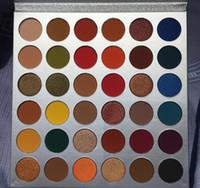 2019 новейшие красоты глазурованная палитра для макияжа ваши оттенки 36 цветов тени для век порошок мерцание матовая палитра DHL доставка