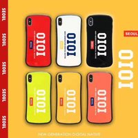 Tide brand IOIO small waist phone case iPhone Xs Max drop pr...