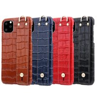 Real Genuine Leather Case 3D Crocodile Pattern Retro Vintage Shell Cover For Apple iPhone 11 Pro Max 11 Pro 11