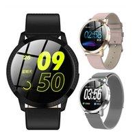 CF18 inteligente reloj de los hombres IP67 mujeres listas para relojes Pareja Bluetooth Recordatorio de fitness pulsera Rastreador de Salud