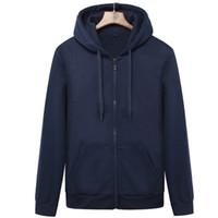 Marken-Männer Hoodie mit Kapuze Sweatshirts Jacken Herren Fleece Street Warm Anzug Männer Hoody Mäntel Velvet Sweatshirt Herren