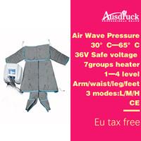 110V-220V Air onda di pressione FAR INGRARED PRESSOTERAPIA Wrap corpo macchina dimagrante Detox linfodrenaggio massaggio di bellezza Apparecchiatura ES600