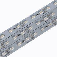 Barra LED luces de tira DC12V 994 * 12MM 14W SMD5730 Medidor de Gaza / LED 72LED por el metro blanca fría DC12V 7000-9000K LED tira rígida