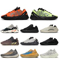 700 chaussures femmes hommes courantes chaussures de course orange mode phosphore os 700 v3 Azareth Azaeth Azael Sports Sports Formateurs Sneakers Taille 12