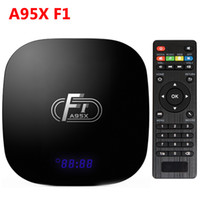 Neueste A95xF1 Android TV Box 4K Android 8.1 Amlogic S905W TV BOX 2G 16G Intelligenter IPTV-Fernseher Set Box X96 TX3 Mini