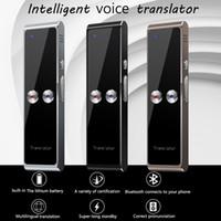 والأكثر مبيعا T8 المحمولة البسيطة لاسلكي ذكي مترجم 68 لغات اتجاهين في الوقت الحقيقي فورية صوت المترجم APP بلوتوث متعدد اللغات