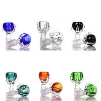 Heavy bong Glass Bowls colored animal shape bowl 14mm 18mm t...