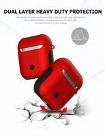 Function Case For Earpods Pouch Box Soft TPU+ Hard PC Bluetoo...