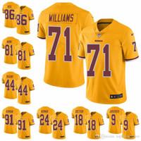 New Arrival. Washington Limited football Jersey Redskins Gold Rush Vapor  Untouchable 11 Alex Smith 8 Kirk Cousins 72 Eric ... 6359dc082