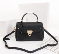 Orijinal Yüksek Kaliteli Tasarımcı Lüks Çantalar Cüzdanlar Bir Kolu Georges Çanta Bayan Marka Bez Kabartmalı Metal Kilit Gerçek Deri Omuz Çantaları