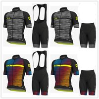 ALE 2019 new Summer men Cycling Jersey (Bib) Shorts Sets Wea...