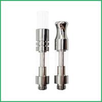 Vape Cartridge Packaging Керамический стеклянный резервуар Pyrex Glass Vape Pen Atomizer OEM Custom Logo Картриджи Wickless 92A3 Керамический испаритель с катушкой