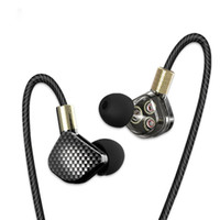 KD6 In Ear Earphone 6 Dynamic Driver Unit Headsets Stereo Sp...