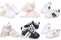 Adorable Sneakers Newborn Baby Casual Crib Shoes Boys Girl I...