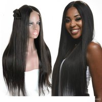 Indian Yaki Remy Lace Front Wig For Women Cheap Virgin Human...
