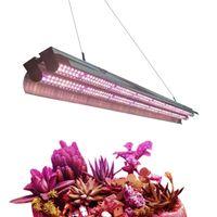 2 pés 3 pés 4 pés T5 levou crescer tubo luzes Full Spectrum Integrado Duplo T5 HO Bar crescente Lamp Luminárias, Plug in, ON / Off Pull Cadeia incluído