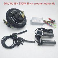 36В 48В 350W электрический велосипед концентратор мотор 8 дюймов колесо мотор для электрических велосипедов электровелосипедов скутеров