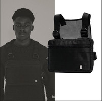 Harness Chest Rig Bag Hip Hop Streetwear Tactical Black Ches...