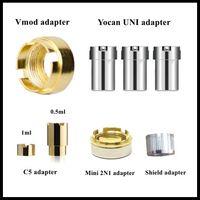 Оптовая продажа 510 магнитных адапоров VMOD адаптеры yocan Uni адаптер komodo C5 мод батареи магнитный разъем кольцо для 510 резьбовых картриджей