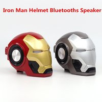 Iron Man Wireless Bluetooth Speaker bass Cartoon Gift Mini S...