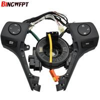 84250-02560 Düğmeler Bluetooth Telefon TOYOTA Corolla RAV4 Için Direksiyon Ses Kontrol Düğmesi 2014 2015 Araba Styling