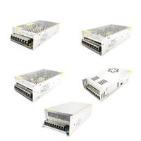 12 V AC 전원 공급 장치 변압기 10A 12.5A 15A 16.5A 20A 25A 30A 42A 50A LED 스위치 어댑터 AC 110V 220V 240V에서 DC 12V 변환기 어댑터