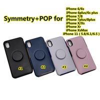 MAX XR 7 8plus 6S Atacado Moda Designer Kickstand celular casos simetria POP Para iPhone11 PRO