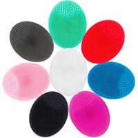 Sünger, Aplikatörler Pamuk Yüz Temizleyici Derin Temizlik Cilt Bakımı Sihirli Silikon Oval Siyah Nokta Remover Fırça Güzellik Makyaj Aracı Bırak