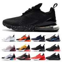 nike air max 270 shoes 2019 Cushion Running Shoes per uomo donna Designer black BARELY Rose nero brillante rosso cremisi habanero Core Bianco CNY Sport Trainer Sneakers