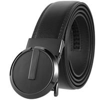 progettista caldi del mens di moda Cintura in vera pelle genuina per gli uomini della cinghia di lusso casuale cinghia 110-130cm cintura KB-105