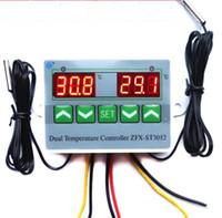 Controlador de la incubadora Temp. Interruptor con doble sensor