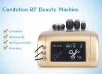 4 en 1 cavitación ultrasónica rf máquina de radiofrecuencia máquina de adelgazamiento ultrasónica para modelar el cuerpo para dispositivo de pérdida de peso máquina de elevación facial