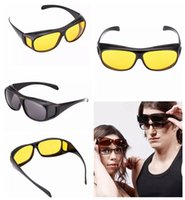 HD Vision Wrap Arounds Sunglasses Aviation Driving Shades Su...