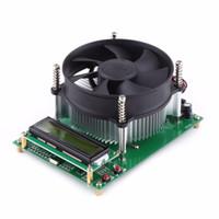 Freeshipping 150 W USB 1602 LCD resistor de carga capacidade de resistência de descarga eletrônica tester DC Voltímetro tensão de energia amperímetro