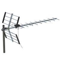 Leadzm 100 Mile de alta definição ao ar livre TV antena UHF 470-790MHz Dobro-dirigida preta fio Sem Suporte dos EUA no da