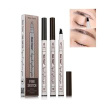 Hot Sale 4 Forks Eyebrow Tattoo Pen Waterproof Eye Makeup 3 ...