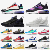 nike air max 270 react off white epic versace chain reaction Hommes Designer Chaussures Femmes Chaussures de course Phantom Triple Black Bauhaus Golden Script Run Sneakers Baskets