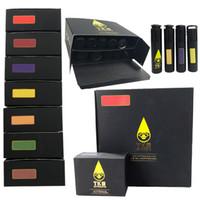 TKO Sauce Vape Cartouches Emballage 0.8ml 1ml céramique Vape cartouche vide 510 fil épais huile Dab Pen Wax Cigarettes Vaporizer