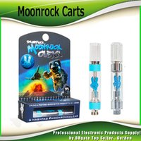 Hot Moonrock Clear Vape Carts Cartridges 1. 0ml Tank 510 Cera...