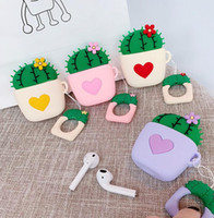 12 epacket new Loving Cactus Headphone Cover Silicone protec...