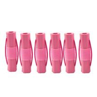 1 conjunto 6 pcs Magic Foam Rollers Esponja Styling Curler Diy Mulheres Hair Styling Tools Acessório Do Cabelo