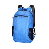 Daypack Sports de plein air Durable réglable Sangle Voyage Casual Camping Résistant à l'eau Packable Sac à dos portable pliant Randonnée
